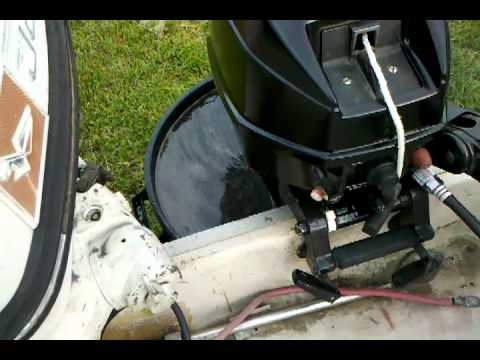 1989 force 9 9 hp outboard motor youtube for 9 9 hp outboard motors
