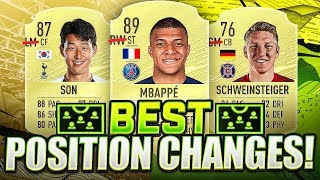 BIGGEST FIFA 20 POSITION CHANGES!!! FIFA 20 Ultimate Team