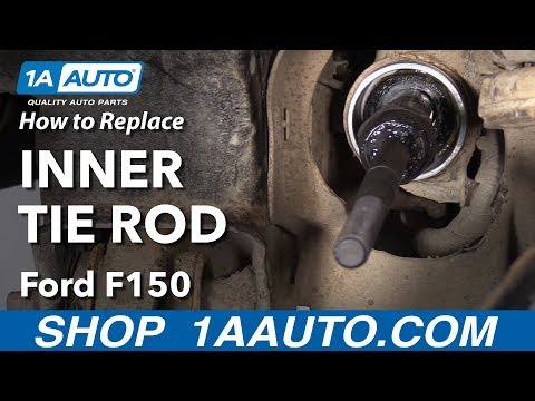 How to Replace Inner Tie Rod 09-14 Ford F-150