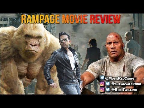 Rampage Movie Review - RED CARPET MOVIE REVIEWS