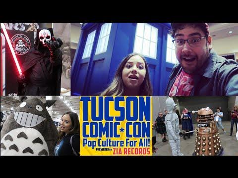 Tucson Comic-Con 2018 - Cosplay, Comics, and Games VLOG