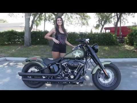 2016 Harley Davidson Army Bike - Softail Slim S 110 Engine 4 Sale