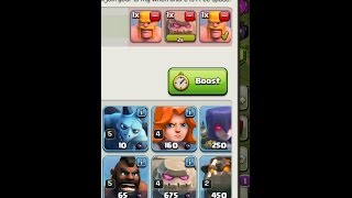 Clash of Clans: Training full army with new 2 Seconds BUG !!