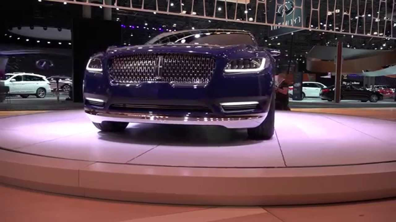 lincoln continental concept best in show at the ny auto show youtube. Black Bedroom Furniture Sets. Home Design Ideas