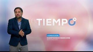 """""""El Tiempo en Mega"""" con Gianfranco Marcone (Nuevas gráficas - 19/07/2017)"""