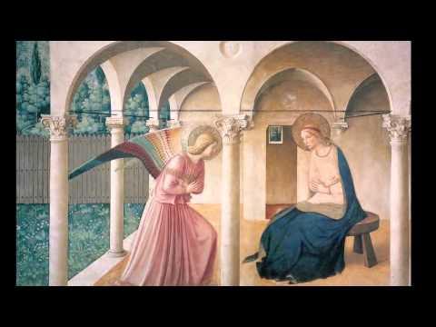 """Fra Angelico'nun """"Müjde""""İsimli Eseri (1. Bölüm) (Sanat Tarihi / Avrupa'da Rönesans ve Reform)"""