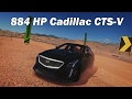 Extreme Power, No Handling (Autocross) - 2016 Cadillac CTS-V Sedan (Forza Horizon 3)