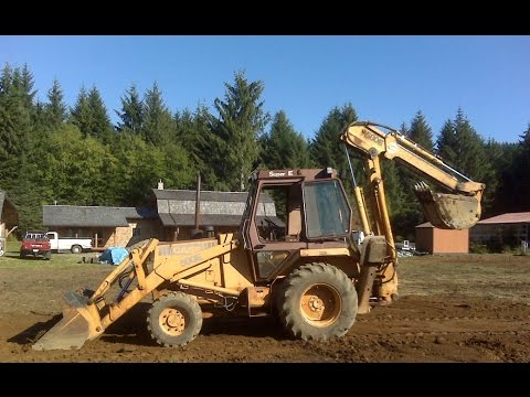 Backhoe Starter Replacement - YouTube