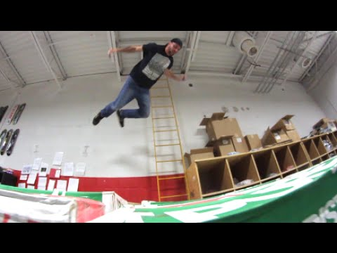 Warehouse Skydiving!