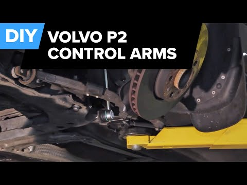 Volvo S60 2.5T Control Arm and Ball Joint Replacement – FCP Euro