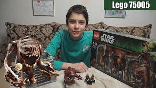 Обзор Lego Star Wars 75005 (Rancor Pit \ Логово Ранкора)