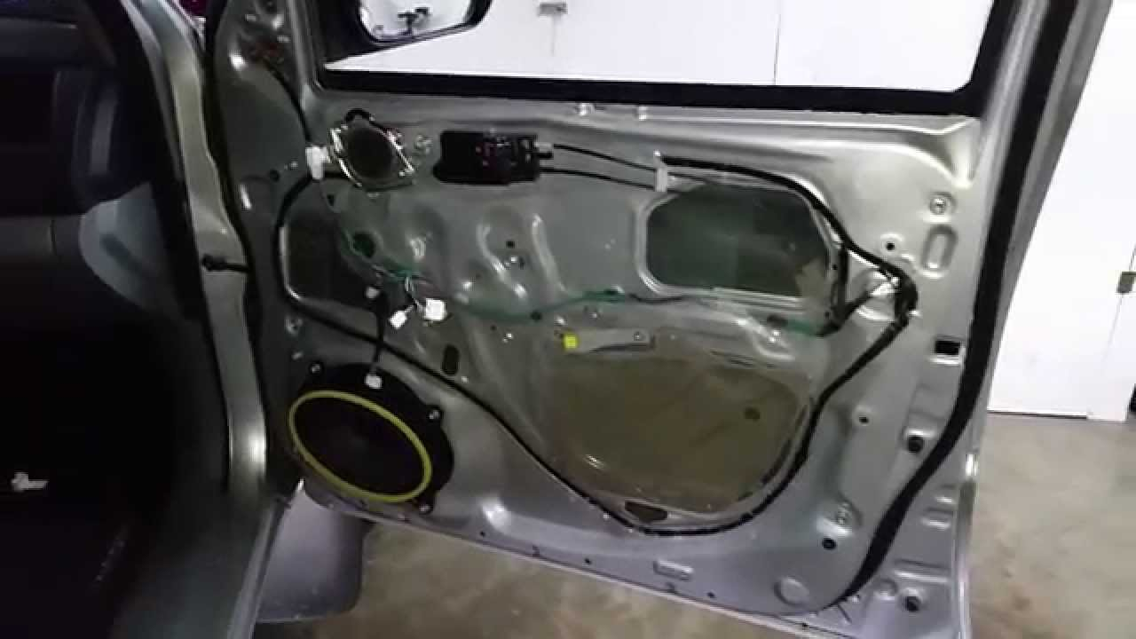 2005 2015 Toyota Tacoma   Metal Door Frame   Door Panel Removed To Upgrade  Speakers   YouTube