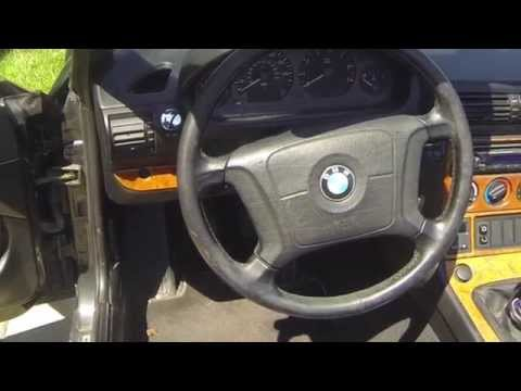 BMW Z3 Steering Wheel lock Removal