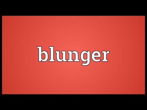 Header of blunger