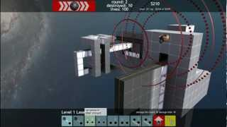Обзор Terrorhedron 3D Coop Tower Defense