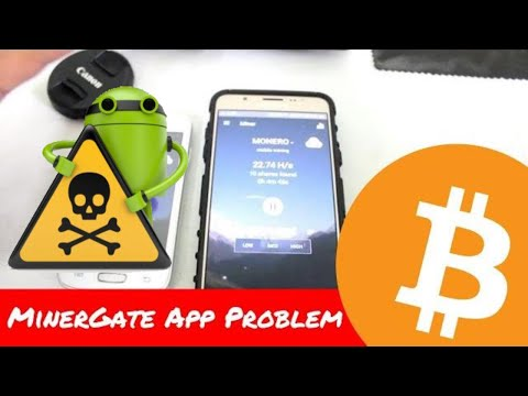 Use phone to mine cryptocurrency