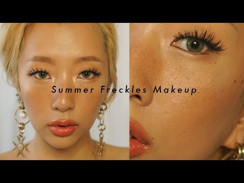 SUMMER FRECKLES CRUELTY FREE MAKEUP ☀️✨ | DAS