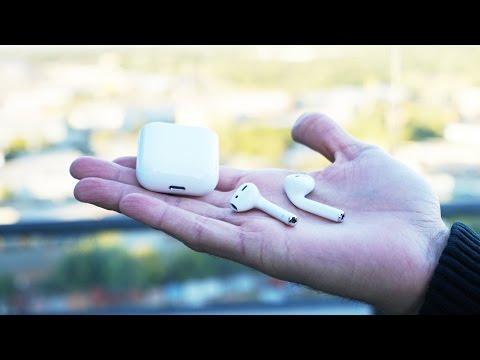 Как называются беспроводные наушники apple