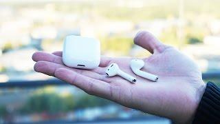 Повний огляд навушників Apple AirPods