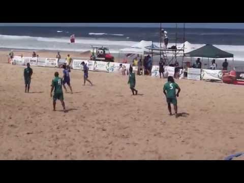 Australia Beach Soccer Cup, North Wollongong Beach, N.S.W., Australia. 13th & 14th December 2014.