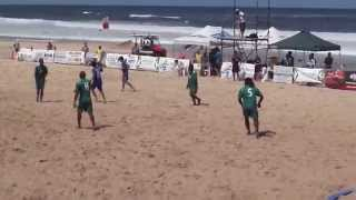 Australia Beach Soccer Cup, North Wollongong Beach, N.S.W., Australia. 13th & 14th December 2014.