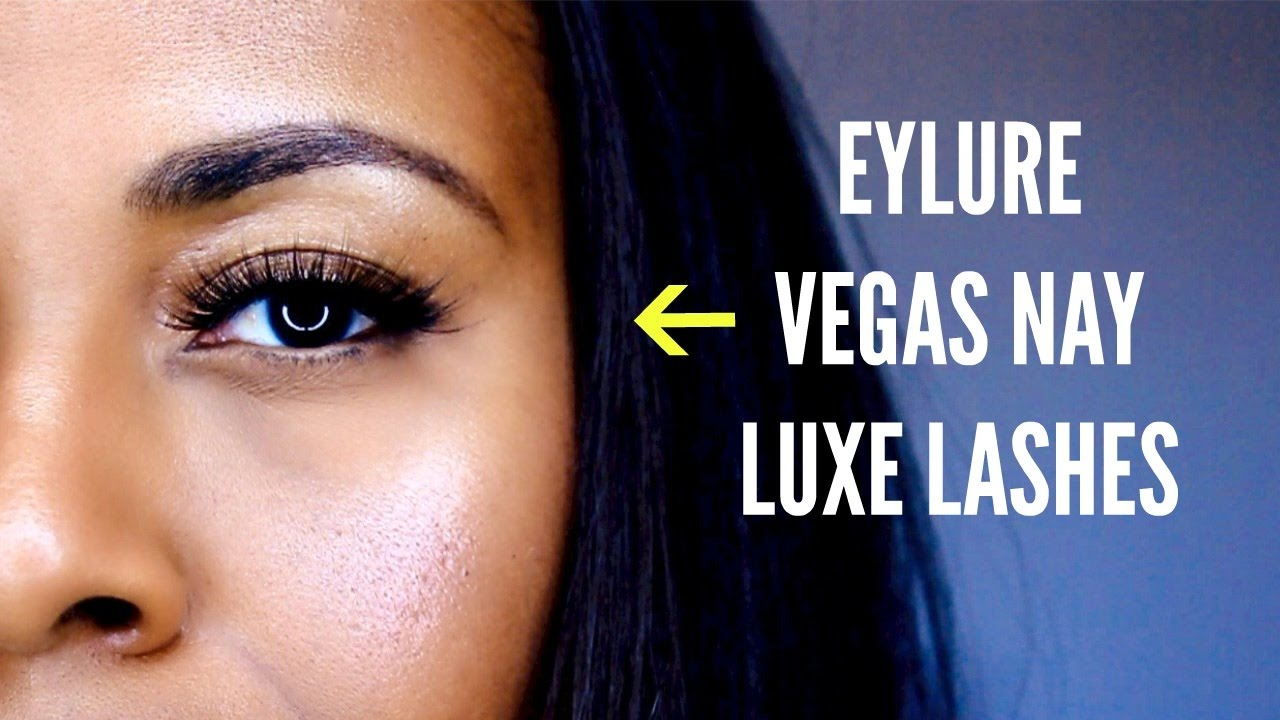 d4591654dc3 Eylure Vegas Nay Luxe Collection Bronze Beauty & Golden Goddess Mink Effect  Lash Try On I ByBare