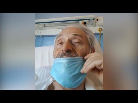 Coronavirus, Amedeo Minghi in lacrime dall'ospedale: 'Sapervi accanto per me è molto importante'