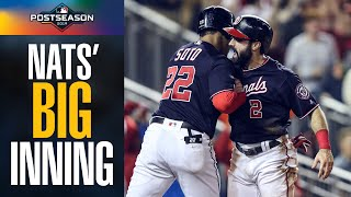 Anthony Rendon, Howie Kendrick lead Nationals' BIG 4-run inning vs Cardinals | MLB Highlights