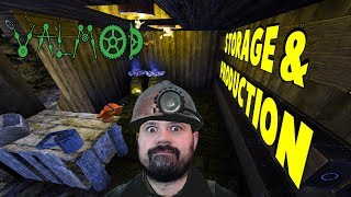 Storage & Production | 7 Days To Die Valmod | S7 E23