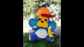 Funky Monkey 3d Origami