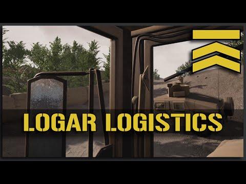 Logar Logistics - Squad Logistics Driver (Pre Alpha 7 Footage)