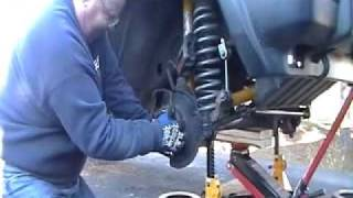 Jeep Cherokee Front Wheel Bearing Replacement  - Part 1 of 3