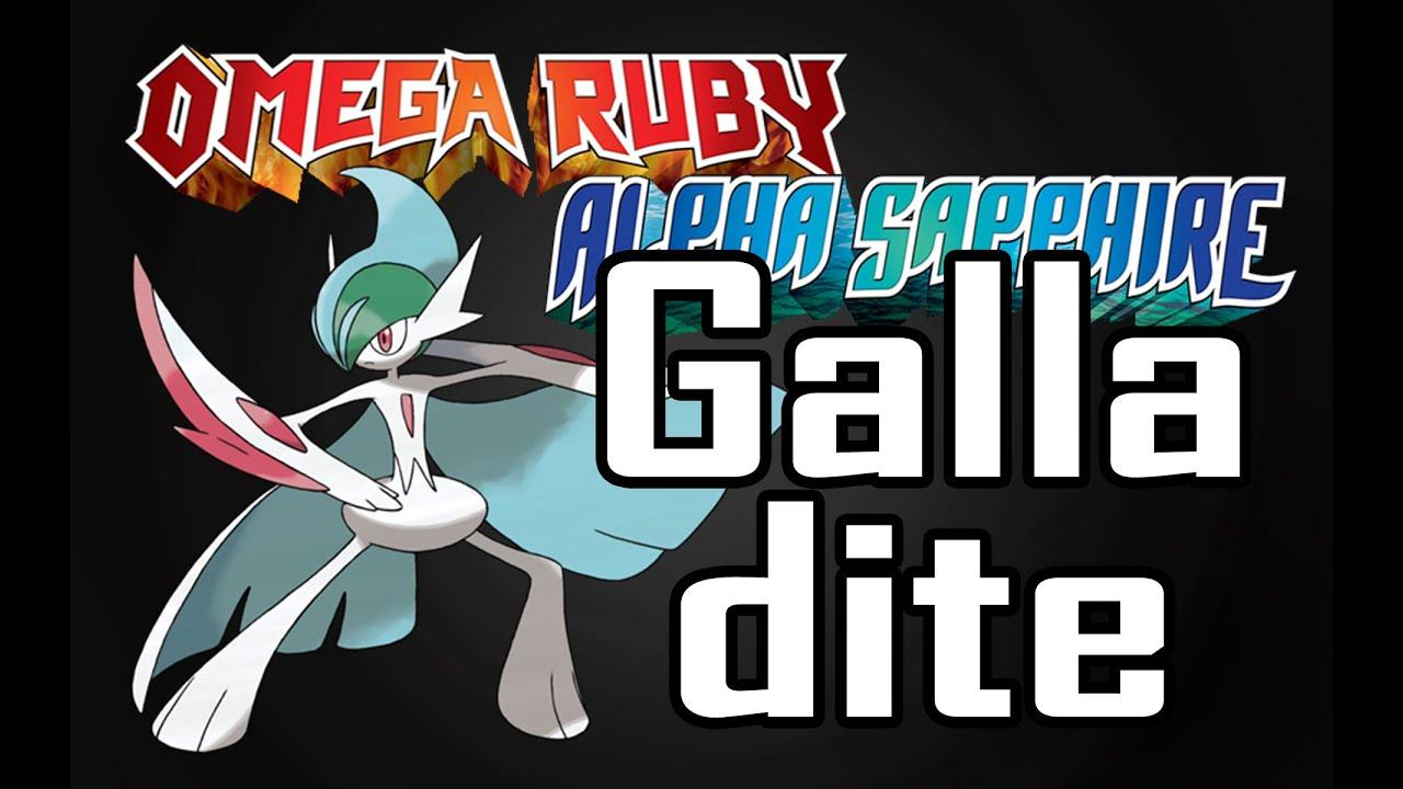 Galladite Location 【how To Get Galladite】 Pokemon Omega