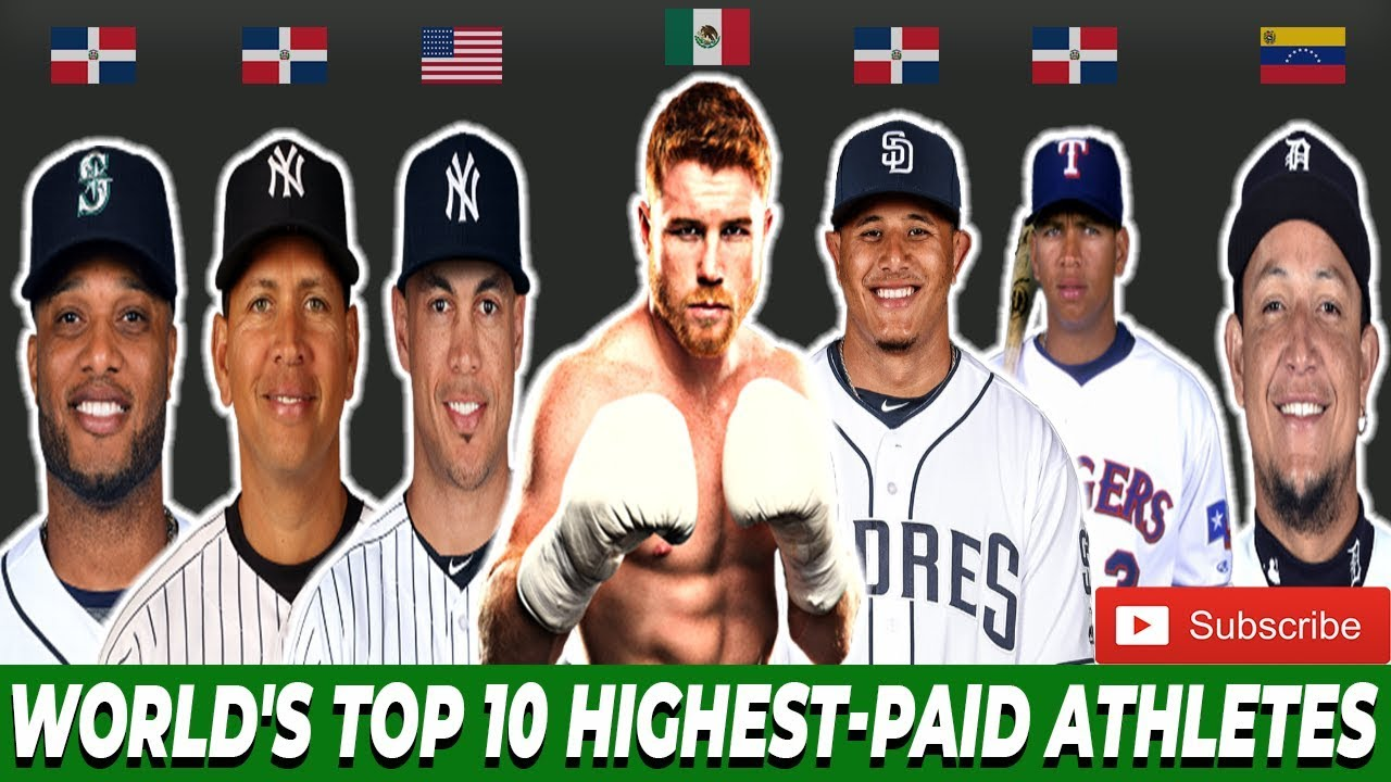 World's Top 10 Highest-Paid Athletes