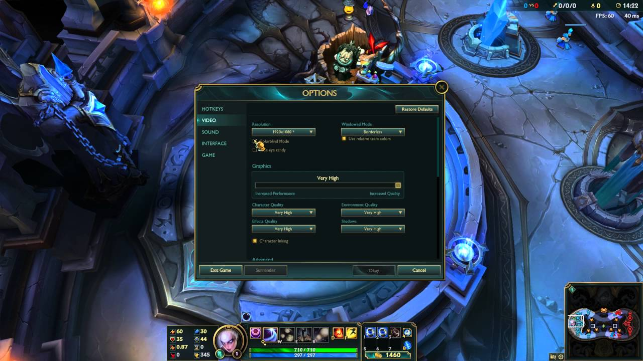 Games for colorblind - How To Enable Color Blind Mode In League Of Legends