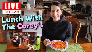 Lunch With The Corey's LIVE STREAM