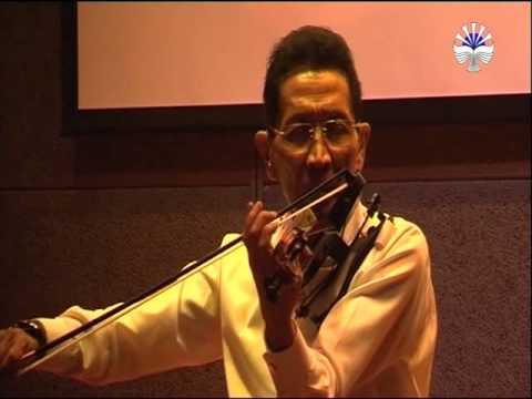 Maestro Biola Single Concert, Idris Sardi at the National Library Teather