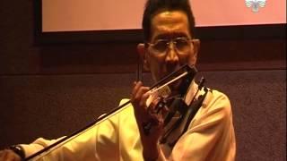 Konser Tunggal Maestro Biola, Idris Sardi di teather Perpusnas