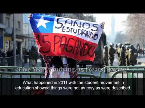 Chilean protester Camila Vallejo - the Guardian