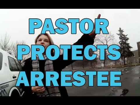 Pastor Protects Felony DV Suspect During Arrest At Church On Video - LEO Round Table episode 467