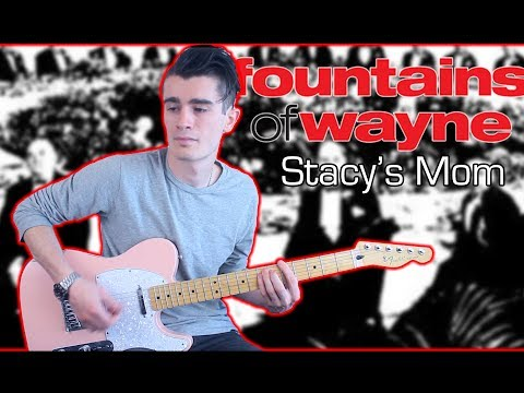 Fountains of Wayne - Stacy's Mom (Guitar & Bass Cover w/ Tabs)