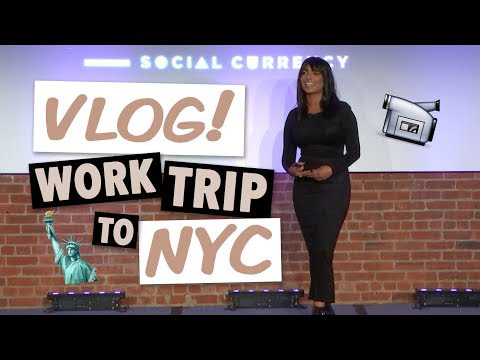 VLOG: Back in NYC! Getting BANGS, Public Speaking Event, & Photoshoots! | Deepica Mutyala