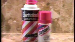 Barbasol Shaving Cream Commercial