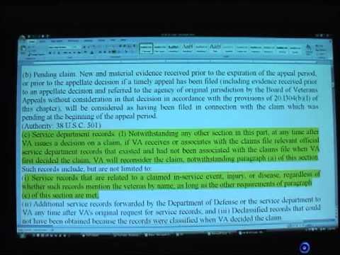US Code 38 Part 1