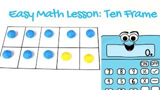Ten Frame Introduction for Kindergarten and First Graders