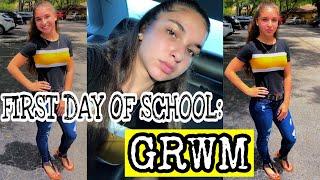 GRWM: FIRST DAY OF SCHOOL!!! | Back to School