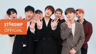몬스타엑스(MONSTA X) - 2018 설날인사 (2018 New Year's Greetings) Chinese Ver.