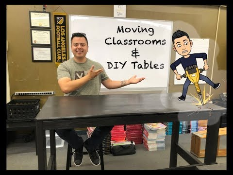 Moving Classrooms & DIY Tables!- Vlogs