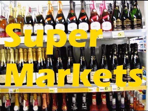 Strategy for Super Markets Abroad in France
