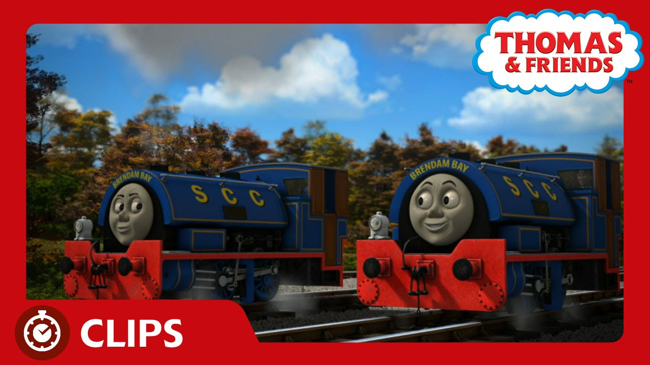 Bill and Ben\'s New Color | Clips | Thomas & Friends - YouTube